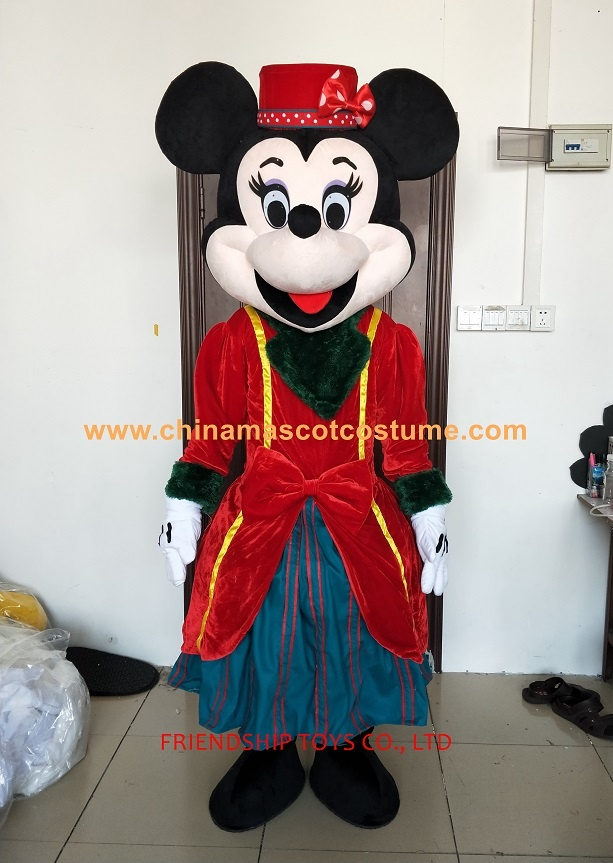Minnie mouse animal mascot costume
