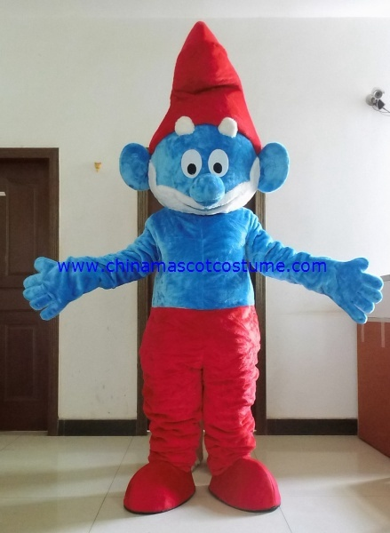 Papa smurfs animal mascot costume for adult