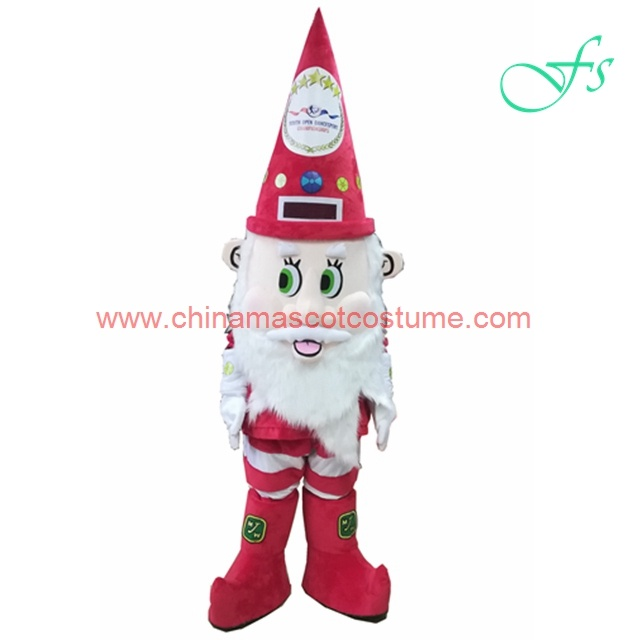 New design Christmas elf mascot costume