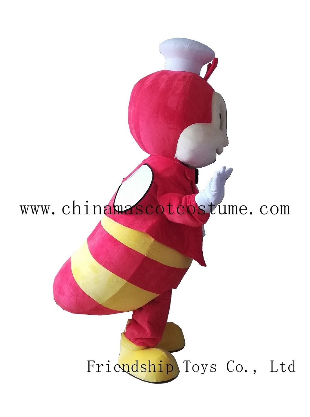 Jollibee mascot costume, Jolli bee cartoon mascot costume, Jollibee adult moving mascot costume