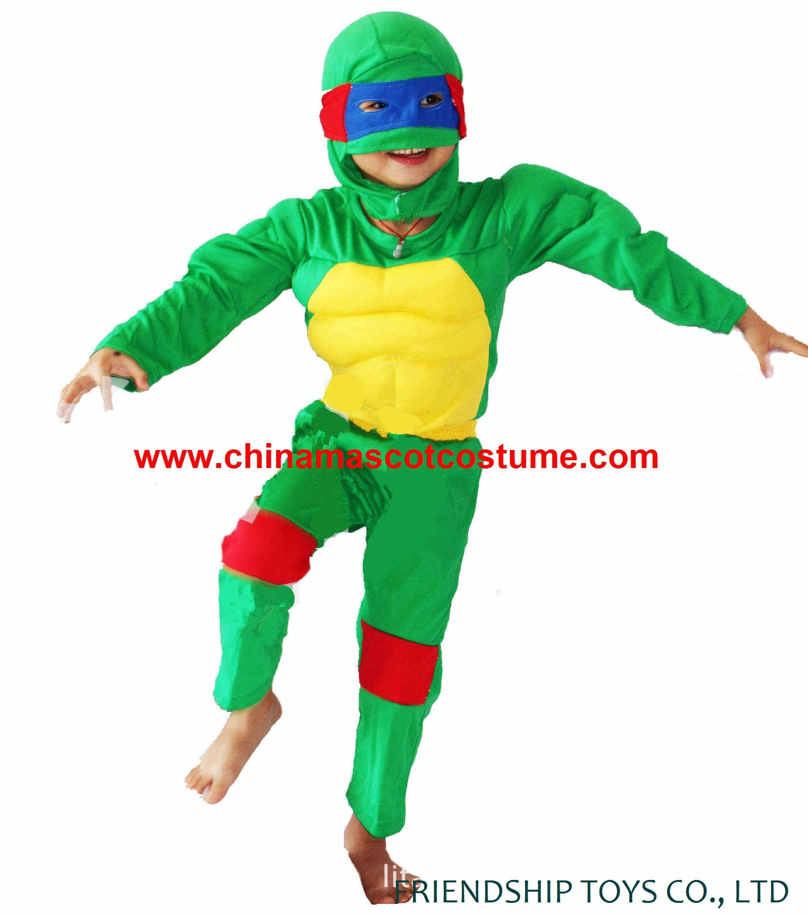 TMNT turtle kids cosplay costume