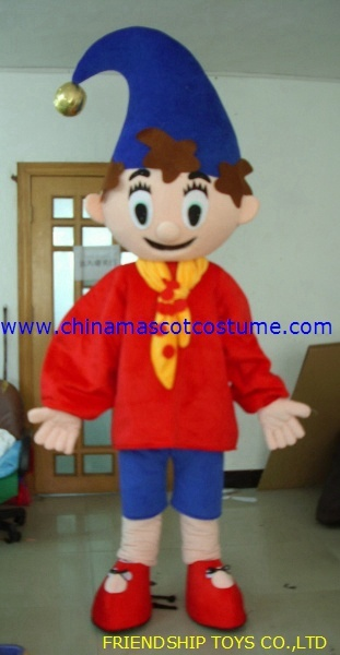 Noddy, Oui-Oui story moving mascot costume