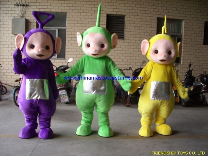 teletubbies halloween mascot costume