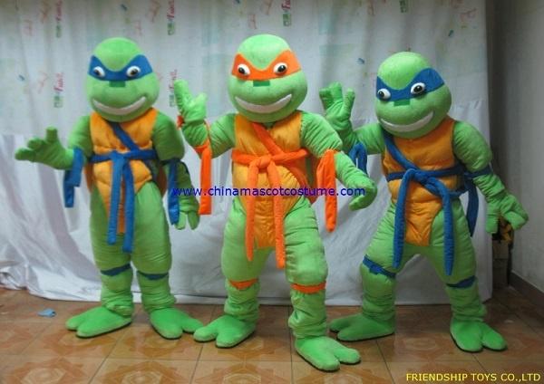 TMNT cartoon mascot costume