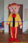 Bear clown party mascot costume