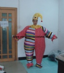 Inflatable clown costume