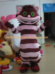 Pony cat character costume, Cheshire cat mascot costume