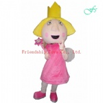 Ben and Holly mascot costume
