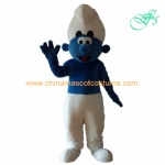 Smurfs brother mascot costume