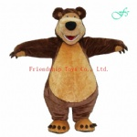 Masha the bear mascot costume