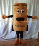 Customized trash can mascot costume
