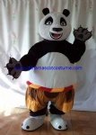 KungFu panda cartoon mascot costume