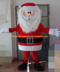 Santa Clause mascot costume