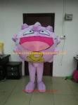 OEM service for cartoon character mascot costume