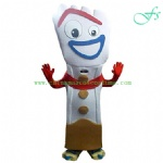OEM forky costume, forky mascot costume for sale