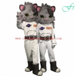 Friendship Toys OEM cat character costume, cat mascot costume