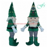 Christmas drawf mascot costume, elf cartoon costume