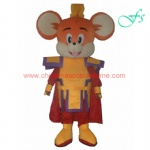 Big ears mouse mascot costume, mouse cartoon costume