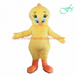 Lovely Tweety character costume, Tweety mascot costume