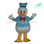 Donald duck cartoon mascot costume, Donald duck character costume