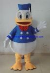 Donald duck party mascot costume