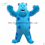 Sully mascot costume, Sully fur costume, Sully plush costume