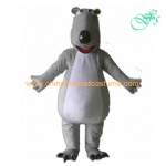 Backkom bear mascot costume, Backkom bear character costume