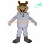 Sandy Cheeks mascot costume, Sandy Cheeks cartoon costume