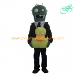 Duck Zombies mascot costume, Zombies game costume
