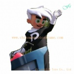 Danny Phantom character costume, Danny Phantom plush costume