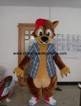 Squirrel animal mascot costume
