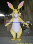 Rabbit Halloween mascot costume