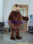 Fat turtle mascot costume