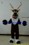Madagascar reindeer character  mascot costume