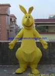 Custom made kangaroo mascot costume