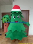 Christmas Tree party mascot costume