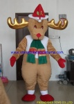 Deer mascot costume for Christmas