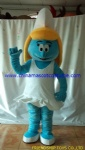 Smurfs moving costume