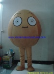 Wall-nut plant mascot costume