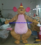 Kangaroo mama animal mascot costume