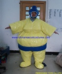 Sumo suit for game playing