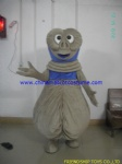 The aliens character mascot costume
