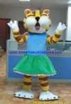 Tiger cat animal mascot costume