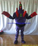 Customized robot moving mascot costume