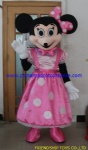 Lovely Minnie mouse mascot costume
