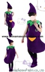 Eggplant mascot clothes for kids