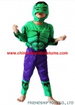 The Hulk kid's party mascot costume