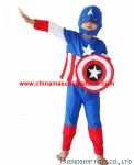 Captain America cosplay costume for kids