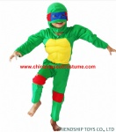 TMNT turtle kids cosplay costume