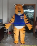 Tiger customized mascot costume